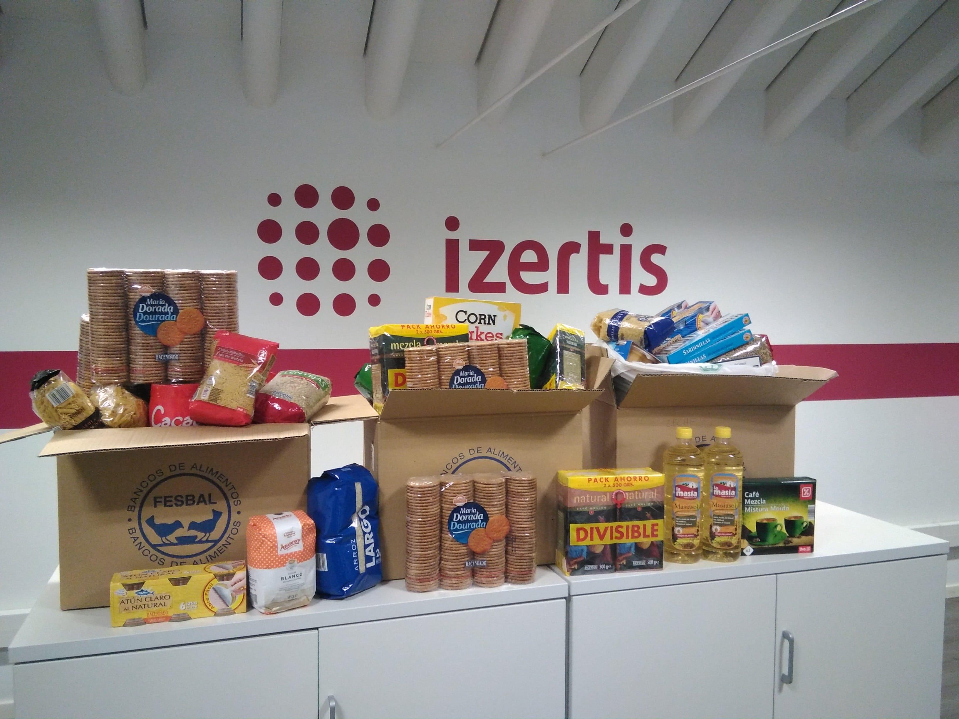 Noticia - EN - Izertis colabora con el Banco de Alimentos de ...