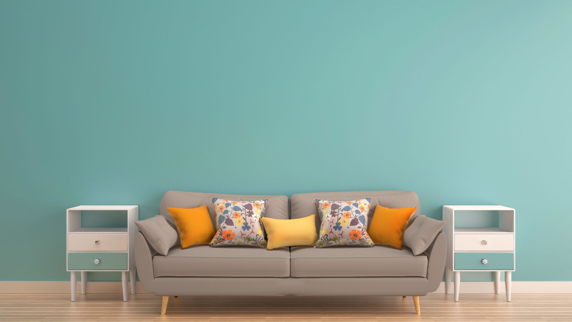 Slider FOTOCASA. Sofa with two jokers at the ends