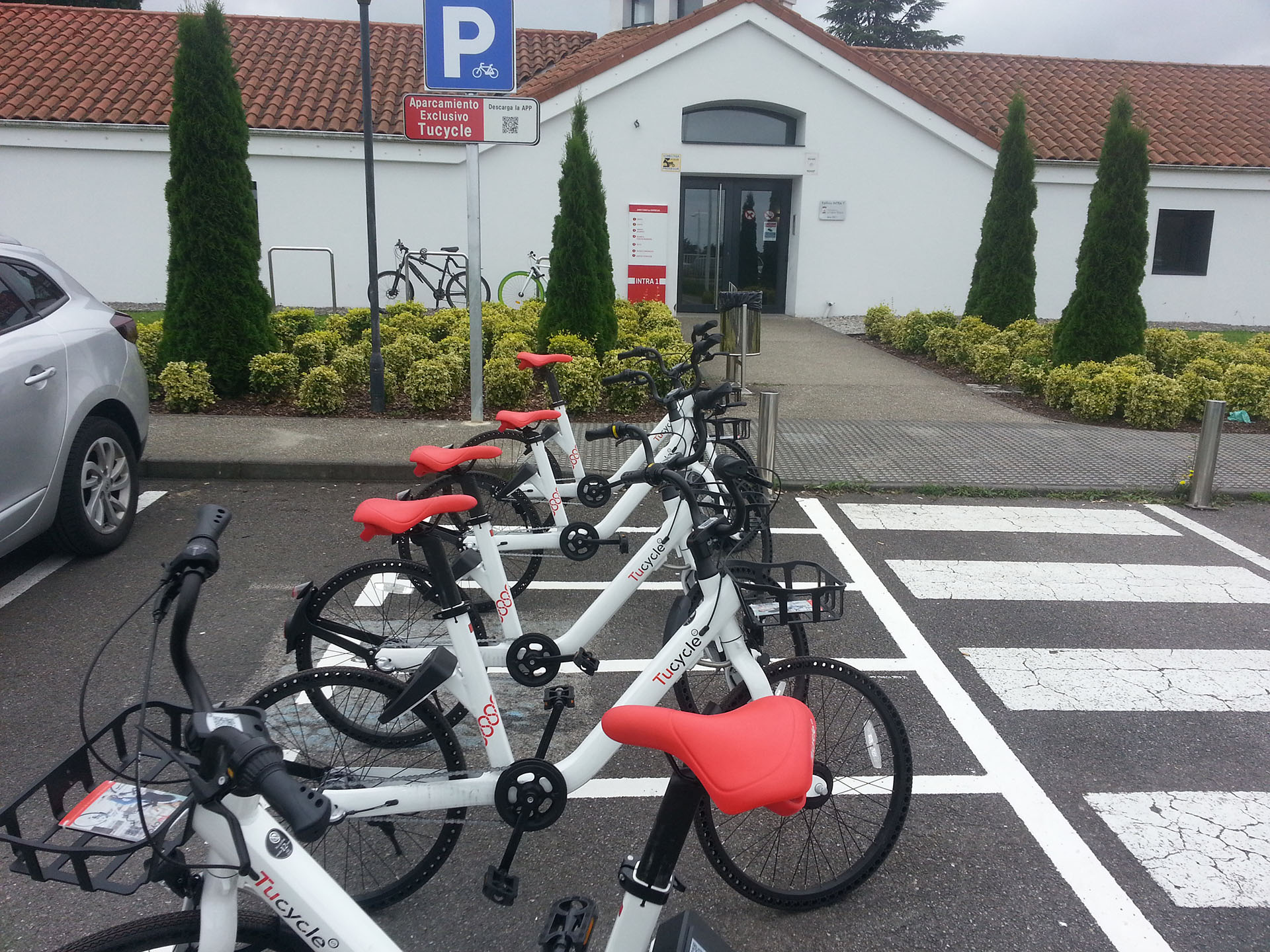Bicycle station in intra's zone